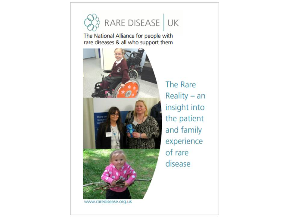 The Rare Reality An Insight Into The Patient And Family Experience