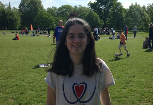 Trampolining with one lung: how I defy my rare disease