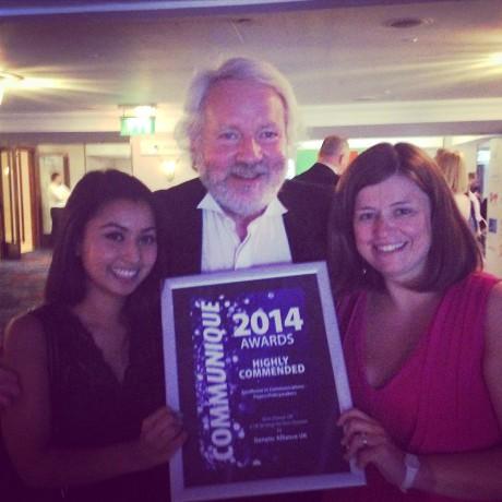High commendation at the Communiqué Awards