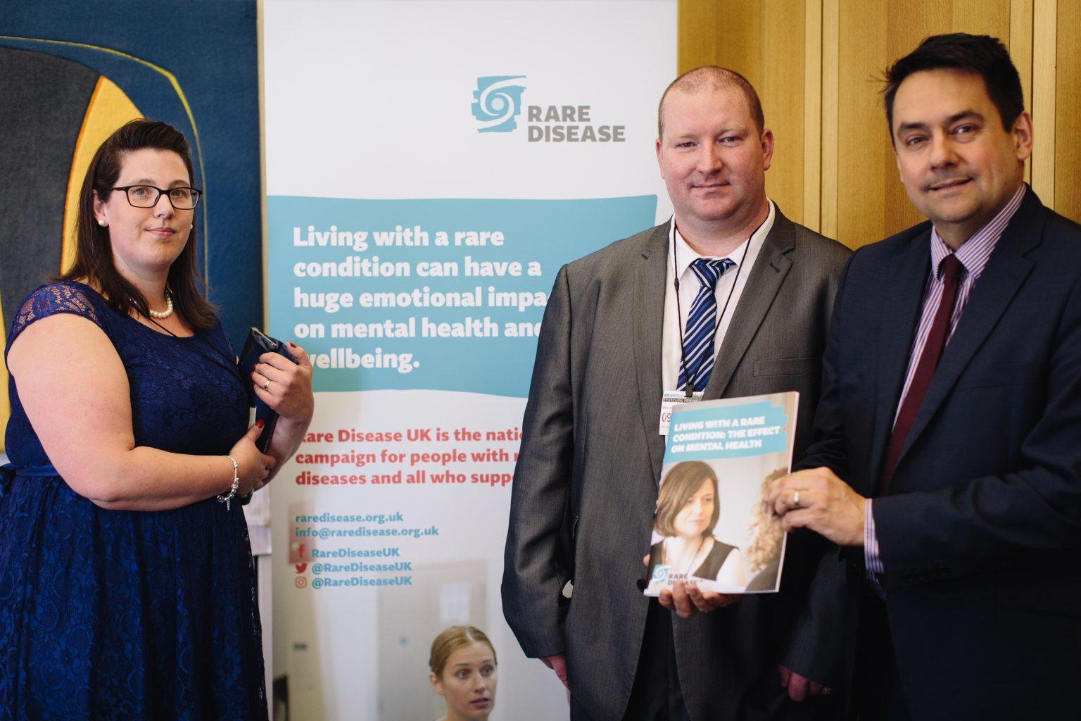 Mental health and rare disease: report launch