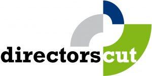 a logo of an organisation called directors cut