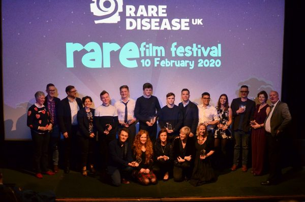 All the winners of the Rare Film Festival.